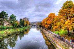 Banho de Avon do rio Fotografia de Stock
