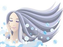 Banho de bolha Fotos de Stock Royalty Free