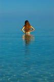 Banho de Sun Foto de Stock Royalty Free