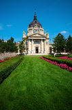 Banho de Szechenyi, Budapest Foto de Stock