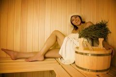 Banho de vapor Fotografia de Stock