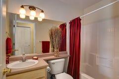 Banho do convidado Foto de Stock