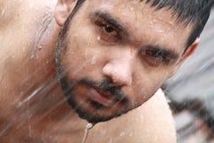Banho do homem Fotos de Stock Royalty Free