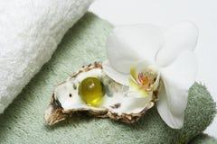 Banho exótico Imagens de Stock Royalty Free
