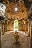 Banho histórico Árabes de Banys em Palma de Mallorca imagem de stock