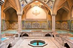 Banho histórico de Hammam-e Ali Gholi Agha Imagens de Stock