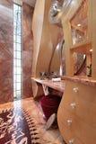 Banho na HOME luxuosa fotografia de stock