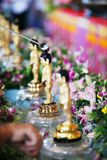 Banho pequeno de Buddha Imagens de Stock Royalty Free