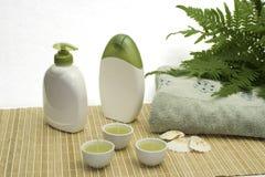 Banho verde Fotografia de Stock