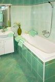 Banho verde Imagens de Stock