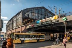 Banhoff Friedrichstrasse Stock Photography