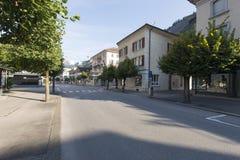 Banhofstrasse, Meiringen Stock Image