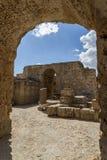 Banhos Antoninas de Tunísia Imagem de Stock Royalty Free