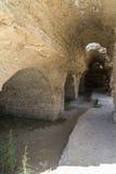 Banhos Antoninas de Tunísia Fotografia de Stock