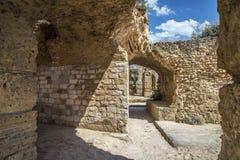 Banhos Antoninas de Tunísia Imagens de Stock