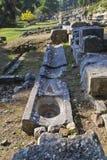 Banhos da mulher, Amphiareion de Oropos Imagem de Stock Royalty Free
