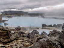 Banhos da natureza de Myvatn Imagem de Stock