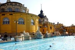 Banhos de Budapest Imagens de Stock
