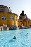 Banhos de Budapest Foto de Stock Royalty Free