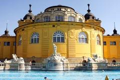 Banhos de Budapest Fotos de Stock Royalty Free