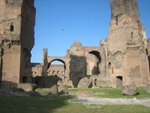 Banhos de Caracalla Fotografia de Stock Royalty Free