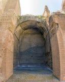 Banhos de Caracalla, ruínas antigas dos thermae públicos romanos Fotos de Stock