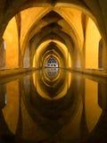 Banhos de Maria De Padilla, Alcazar de Sevilha Fotografia de Stock Royalty Free