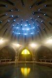 Banhos públicos velhos interiores imagem de stock royalty free