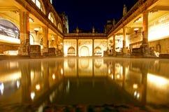 Banhos romanos Fotos de Stock Royalty Free