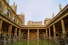 Banhos romanos Fotografia de Stock