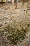 Banhos romanos na Espanha, Caldes de Malavella imagem de stock
