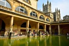 Banhos romanos no banho Fotografia de Stock Royalty Free