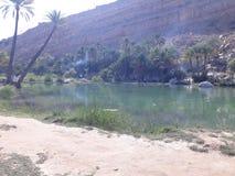 Bani Khalid вадей, Оман стоковое фото rf