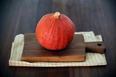 Bani lub zima kabaczka hokaido typ, pomarańcze zdjęcie royalty free