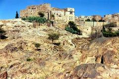 Bani Matar-dorp Royalty-vrije Stock Afbeelding