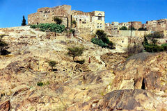 Bani Matar village. In Yemen Royalty Free Stock Image