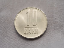 10 bani romanian moneta Obraz Stock