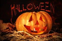 Bania i Halloween zdjęcie stock