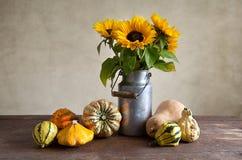 bania słoneczniki fotografia stock