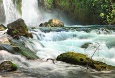瀑布小河 库存图片