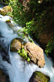 Banias Waterfall. Hermon Stream Nature Reserve, Israel Royalty Free Stock Image