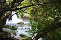 Banias Waterfall stock photos