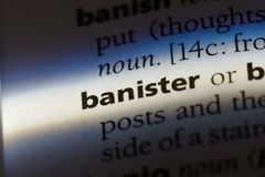 banister royalty free stock photography