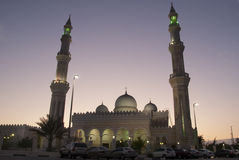 Baniyas Mosque Royalty Free Stock Photography