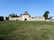 Banja Luka Castle (178). Built by the Romans and fortified by the Ottomans, Banja Luka's castle is its most striking structure with its high stone walls Stock Photo