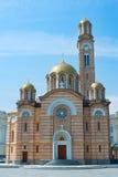 Banja Luka Cathedral View Stock Photography