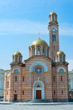 Banja Luka Cathedral view. Cathedral of Christ the Saviour, Banja Luka. Bosnia and Herzegovina Stock Photography