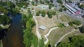 Banja Luka - fortaleza Kastel Foto de archivo