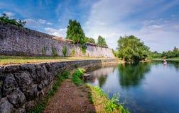 Banja luka river Stock Images