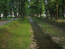 Зеленый парк в banja Vrnjacka стоковое фото